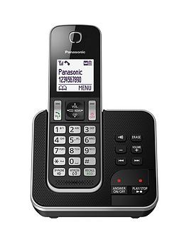 Panasonic Kx-Tgd32 Single Cordless Telephone