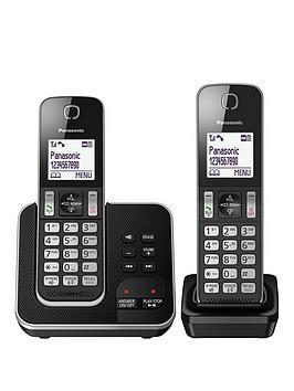 Panasonic Kx-Tgd32 Twin Cordless Telephones