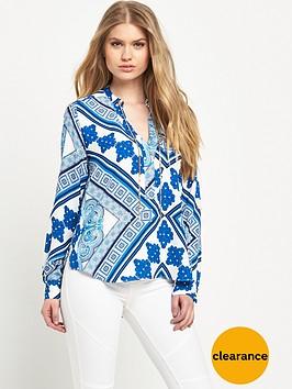 river-island-printed-chain-blouse