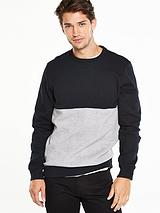 Premium Colour Block Sweat