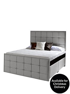 dormeo-loire-4-drawer-divan-with-sicrocconbspmediumsoft-mattress