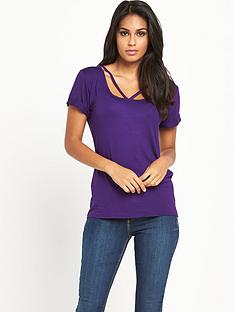 v-by-very-strap-detail-jersey-tee