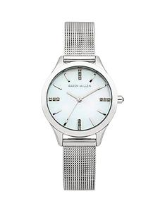 karen-millen-karen-millen-stainless-steel-mesh-strap-ladies-watch