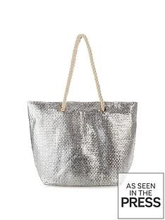 v-by-very-metallic-straw-beach-bag