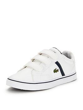 lacoste-junior-fairlead-strap-shoe-white