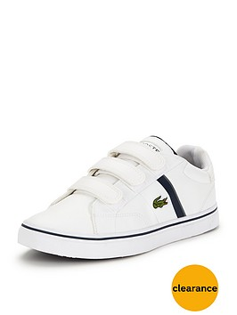 lacoste-junior-fairlead-strap-shoe-white