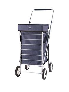 sabichi-sabichi-blue-4-wheel-trolley