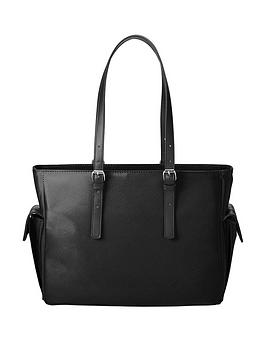 hp-140rdquo-ladies-slim-tote-ndash-black
