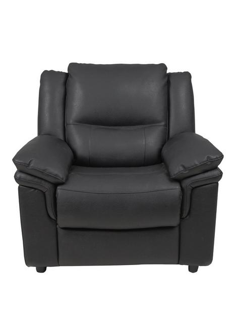 albion-luxury-faux-leather-armchair