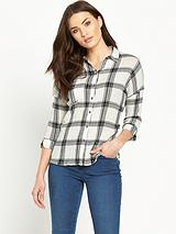 Cheesecloth Check Shirt