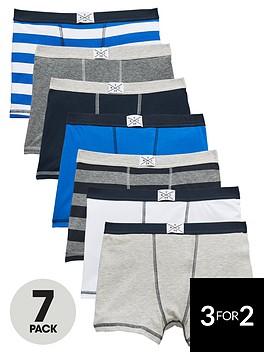 v-by-very-boys-trunks-7-pack