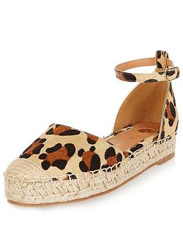 river-island-pony-leather-tie-espadrillenbsp
