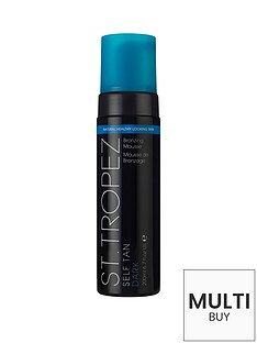 st-tropez-st-tropez-self-tan-dark-bronzing-mousse-200mlnbspamp-free-st-tropez-glow-amp-go-gift-set