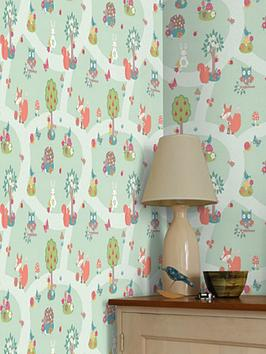arthouse-forest-friends-wallpaper