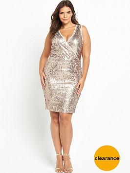so-fabulous-knot-side-sequin-dress