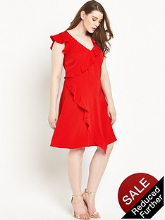 so-fabulous-ruffle-layer-dress-14-28-red