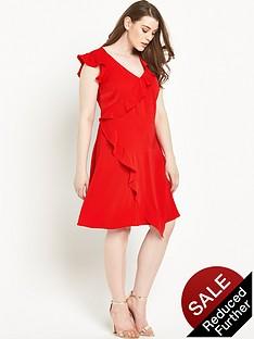 so-fabulous-ruffle-layer-dress-14-28-red