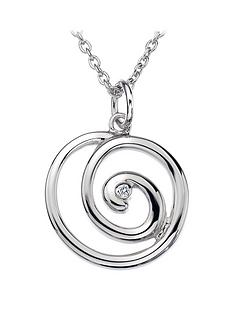 hot-diamonds-sterling-silver-eternity-spiral-pendant