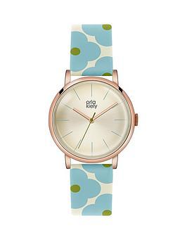 orla-kiely-orla-kiely-patricia-light-blue-amp-cream-flower-print-ladies-leather-strap-watch
