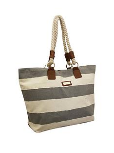kangol-rope-handle-beach-bag-stripe