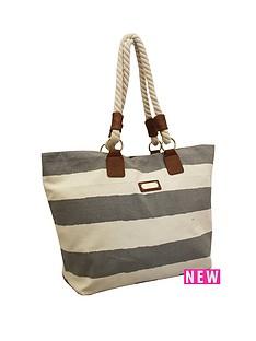 kangol-rope-handle-beach-bag-stripe