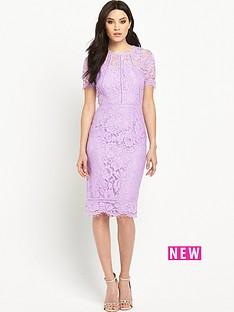 v-by-very-bodycon-ladder-lace-midi-dress