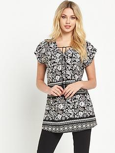v-by-very-printed-tassel-tunic