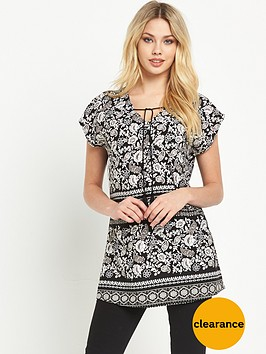 v-by-very-printed-tassel-tunic