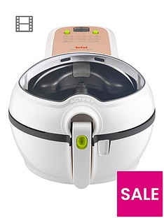 Tefal FZ740040 ActiFry Original Health Fryer, 1kg Capacity - White