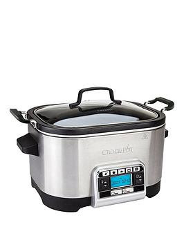 Crock-Pot Csc024 5.6-Litre Slow &Amp; Multi-Cooker Best Price, Cheapest Prices