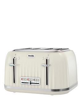 Breville Vtt702 Impressions 4-Slice Toaster - Cream thumbnail