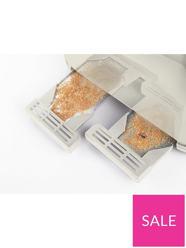 a3212e361466 Breville VTT702 Impressions 4-Slice Toaster - Cream | very.co.uk