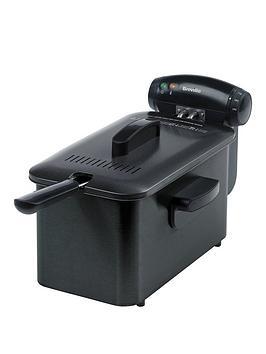 Breville Stainless Steel Pro Fryer - Black