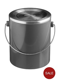 typhoon-hudson-compost-caddy-in-grey-ndash-3-litre-capacity