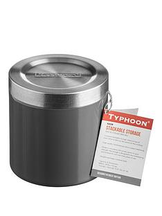typhoon-hudson-11cm-stack-and-store-jar-in-grey