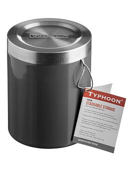 typhoon-hudson-13cm-stack-and-store-jar-in-grey
