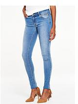 ZIPPED POCKET SKINNY JEAN