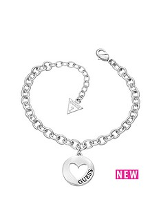 guess-guess-g-girl-rhodium-plated-heart-drop-charm-bracelet