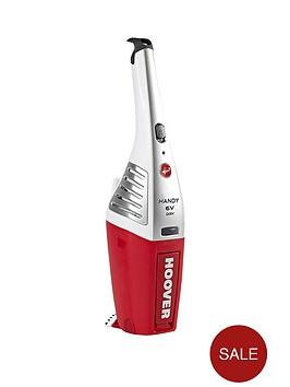 hoover-sj60da6-handy-6-volt-handheld-vacuum-cleaner-redwhite