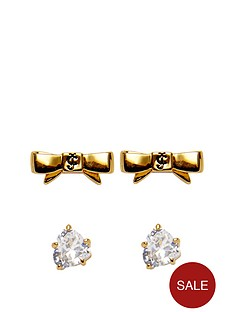 juicy-couture-juicy-couture-bow-stud-set-earrings