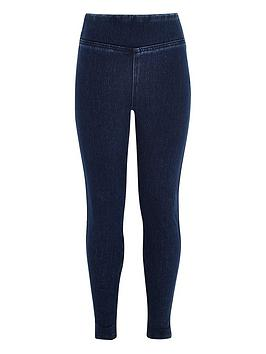 river-island-girls-high-waistednbspdenim-look-leggings