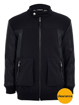 river-island-boys-pu-panel-bomber-jacket