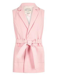 river-island-girls-pink-belted-sleeveless-blazer