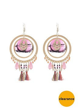 river-island-feather-detail-earrings