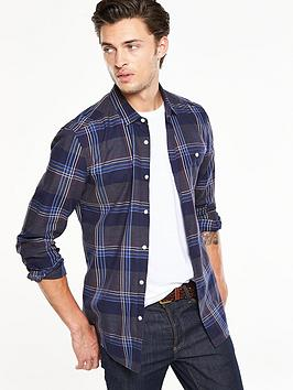 v-by-very-long-sleeve-multi-check-shirt