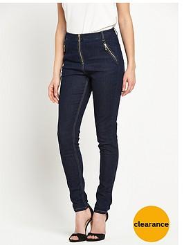 v-by-very-high-waist-zip-front-skinny-jean-indigo