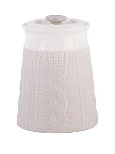 beau-elliot-chunky-knit-storage-jar-pebble