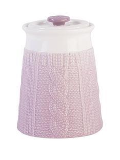 beau-elliot-chunky-knit-storage-jar-heather