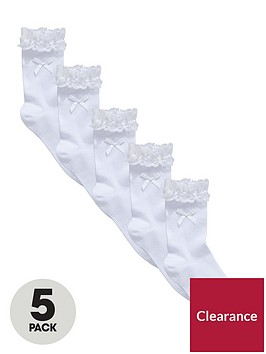 v-by-very-girls-frill-and-bow-ankle-socks-5-pack