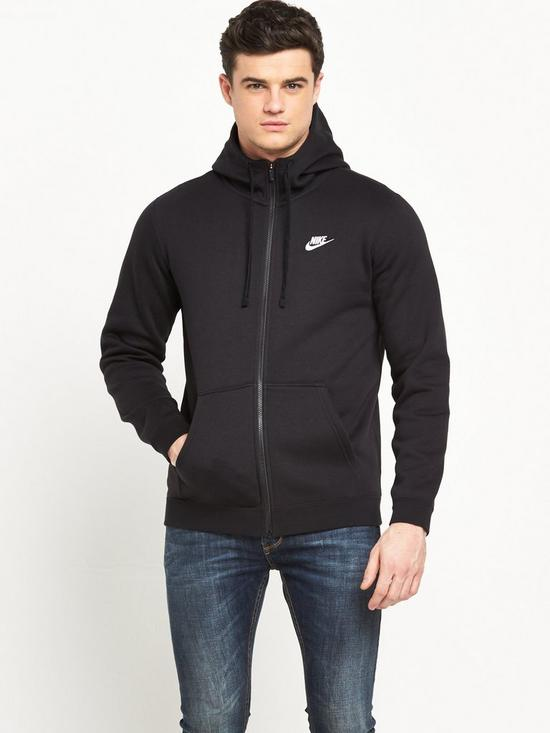 f8f8cfdb6 Nike Nike Sportswear Club Fleece Full Zip Hoody | very.co.uk